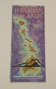 Vintage-Pan-American-Pan-Am-Airlines-Brochure-Hawaiian-Islands-Advertising-Map
