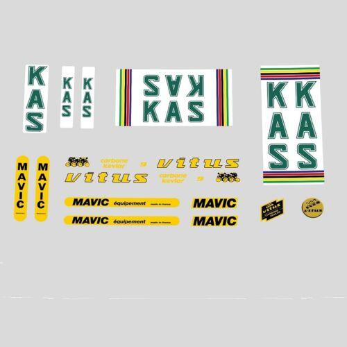 Kas Vitus Fahrradrahmen Sticker - Decals - N.870