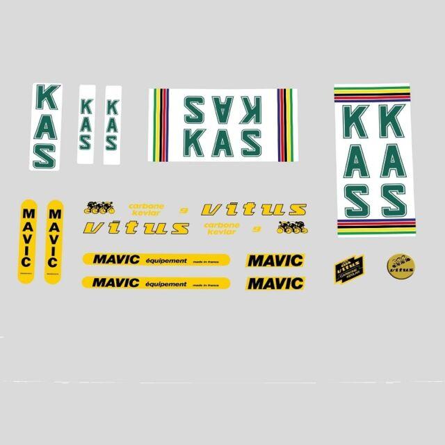 n.9870 Decals KAS Vitus Mavic Sponsor Stickers