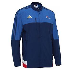 3f7f142cb7 adidas French Federation Handball Jacket AA3598~Mens~UK 2XS TO 2XL ...