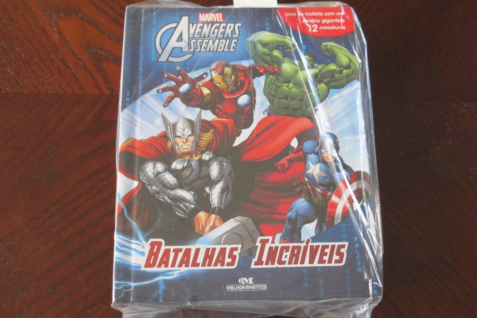 Marvel Avengers Assemble Batalhas Incriveis (Em Portuguese do Brasil)