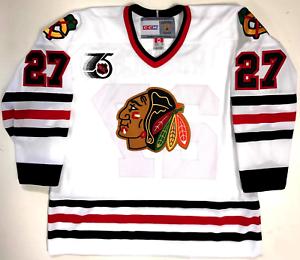 67aef8bc5 Image is loading JEREMY-ROENICK-CHICAGO-BLACKHAWKS-CCM-VINTAGE-WHITE-NHL-