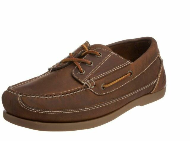 Chatham Rockwell Wide Fit Deck Shoes in