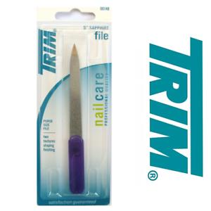 Trim-Nail-File-5-Inch-Sapphire-00148