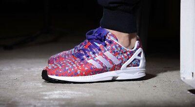 adidas zx flux weave multi colour [B34473] UK 12 | eBay
