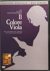 Dvd-Il-Colore-Viola-Edizione-Speciale-2-dischi-di-Steven-Spielberg-1985-Usato