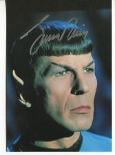 Leonard Nimoy ++ Autogramm ++  Star Trek ++ Fringe