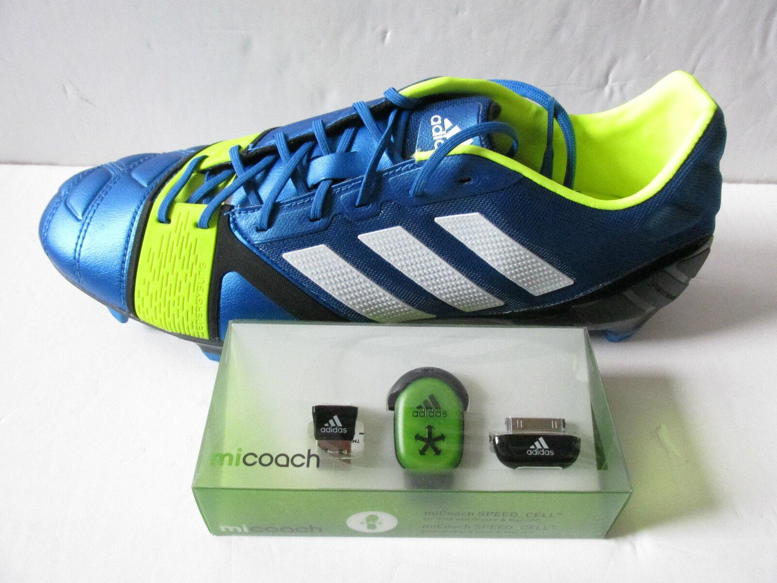 Adidas Nitrocharge 1.0 TRX Fg Mi Allenatore Pacco Scarpe Calcio Uomo L44753