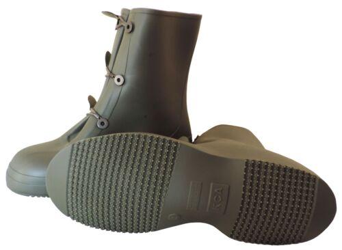Pointure 40 Sur-bottes caoutchouc isolantes kaki multi-usage NEUVES