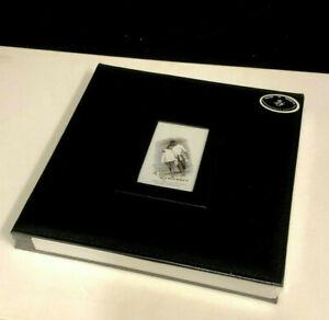 Self Adhesive Photo Album Photos Holders 18 Sheets Acid Free 32 5x33 5cm Black Ebay