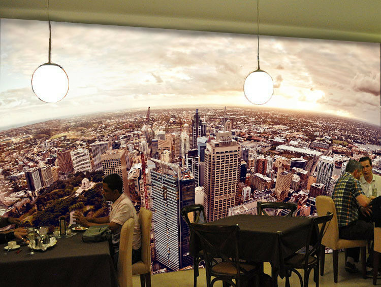 3D Heavenly City 77 Wall Paper Murals Wall Print Wall Wallpaper Mural AU Lemon