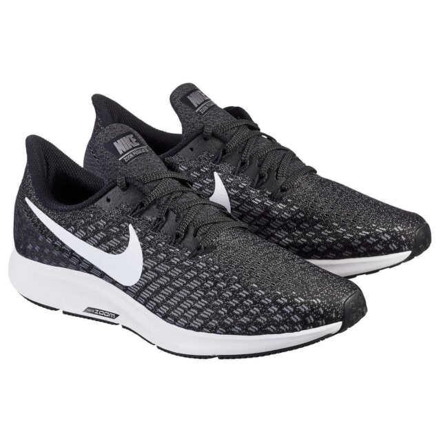 NEW Men's Nike Air Zoom Pegasus 35 TB Running Shoes Black Gray 942851 Size 9