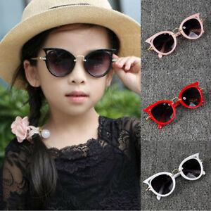 Children Baby Brand Vintage Oversized Glasses Toddler Kids Gradient Sunglasses