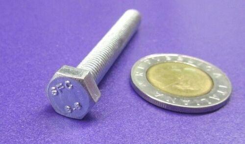FT 25 Pc M7 x 1.0 x 50 mm Length Class 8.8 Zinc Steel Tap Bolt