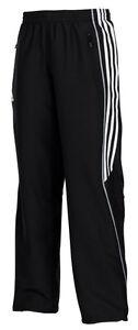 Adidas-Kinder-Sporthose-schwarz-Trainingshose-Jogginghose-Gr-128-140-152-164
