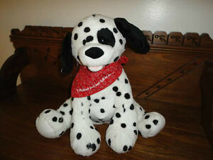 Gund Fun Collection Mechanical Musical DALMATIAN DOG Sings Do You Love Me New