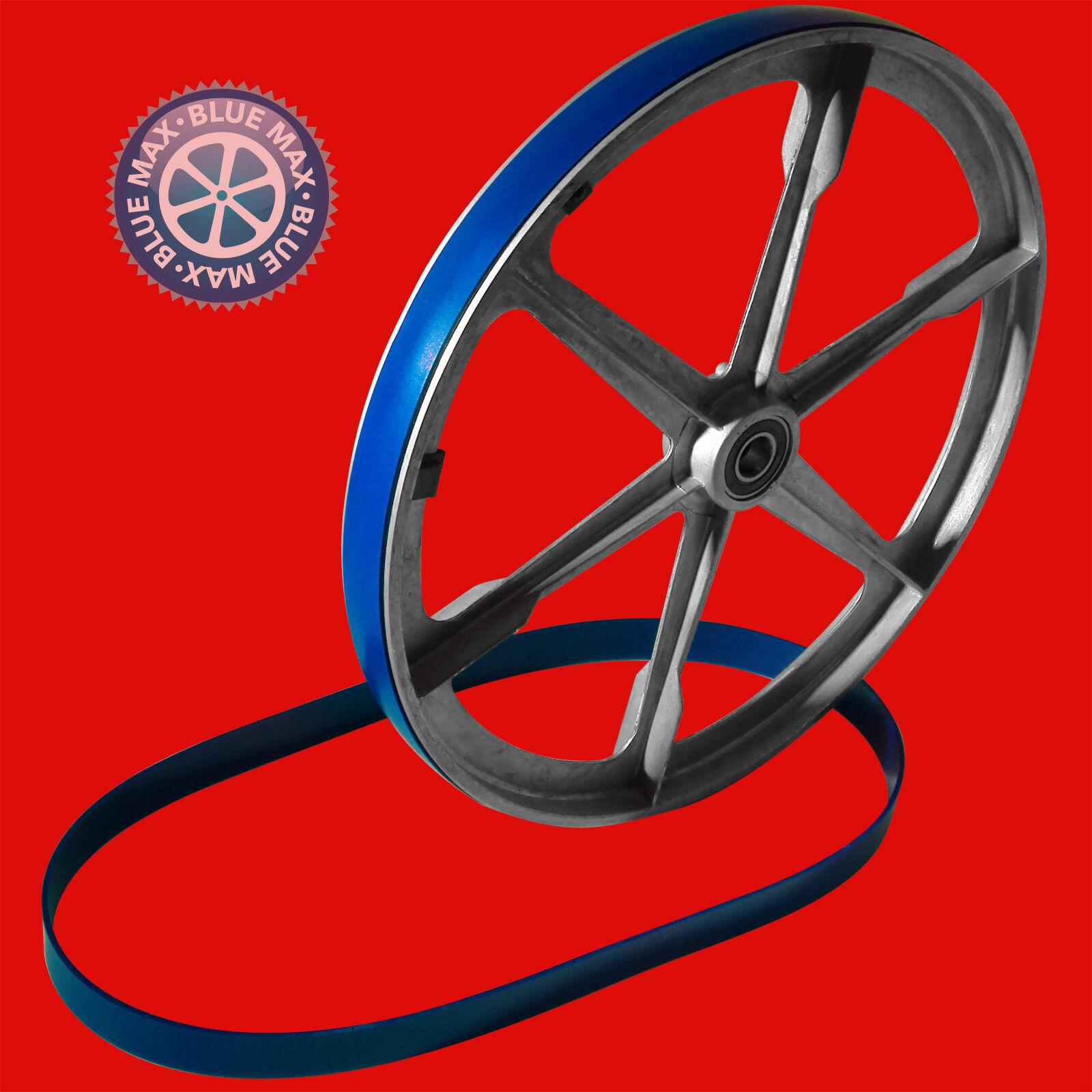 2 Blaues Max Ultra Duty Urethane Cinta Sierra Neumáticos 400mm X 30mm