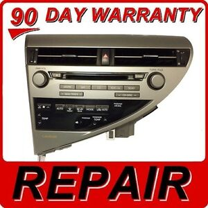 lexus 6 disc cd changer error 3