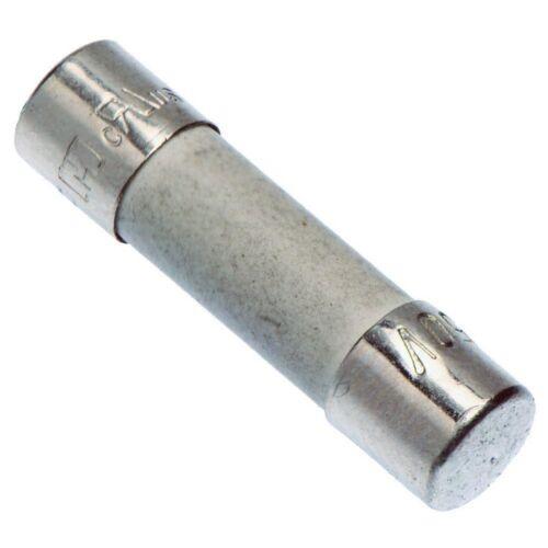 10 X 6.3A 20mm Cerámica Retardo Quemado Lento Fusible