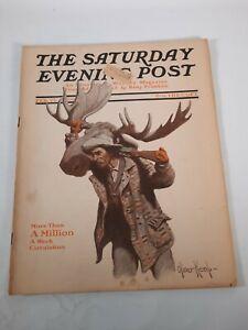 February 27 1909 The Saturday Evening Post Magazine  vintage advertisements