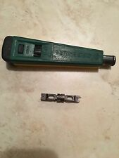 GreenLee 46020 Punch Down Tool With 110 Blade Free Shipping