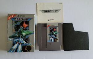Gradius Complete in box! CIB (Nintendo, NES 1986) Unpunched Hangtab RARE 5 Screw