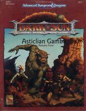 Dsq3 Dark Sun Asticlian Gambit Ad&d TSR 2412 Module