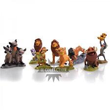 IL RE LEONE SET 9 PERSONAGGI FIGURE STATUETTE torta action disney timon Simba