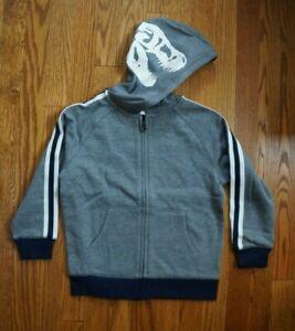NWT Gymboree Boys Camo Zip Up Sweatshirt Hoodie XS 3-4
