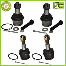 Ford Explorer Ranger Bronco II 4WD 4X4 (4) Pc Kit Front Upper & Lower Ball Joint
