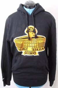 Mitchell-amp-Ness-NEW-MLB-Pittsburgh-Pirates-World-Series-Pullover-Hoodie-Womens-L