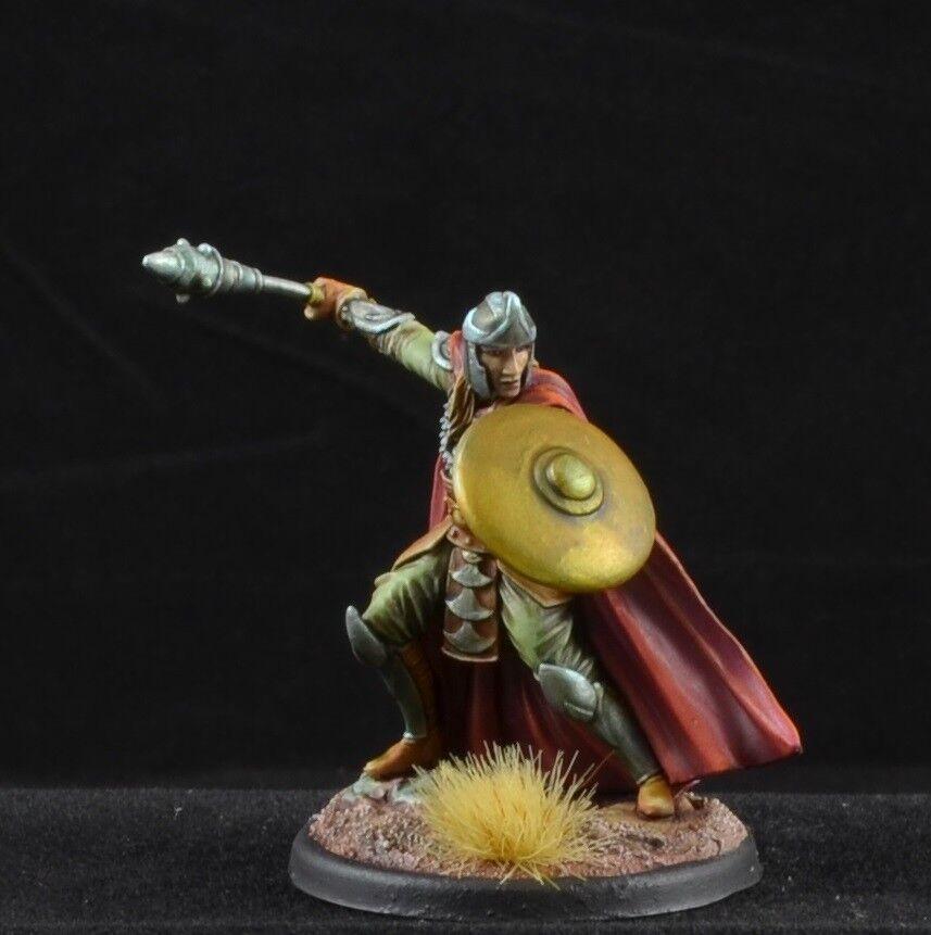 Clérigo Macho Pintado Con Maza De Dark Sword Miniatures, D&D carácter 28mm