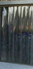 """Freezer/Reinforced PLASTIC VINYL STRIPS for DOOR:10 STRIPS 6"""" wide x 7 ft x .060"""