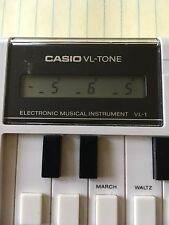 Casio VL-Tone VL-1 80's Keyboard Synth Calculator