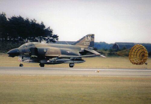 RAF LAKENHEATH POSTCARD F-4D PHANTOM