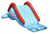 Swimline 90809 Super Water Slide Swimming Pool Inflatable Toy Kids Summer Fun on sale