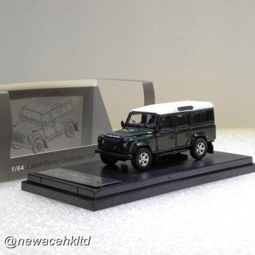 Land Rover Defender 110 Dark Green Master 1//64