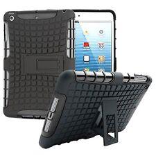 Hybrid Outdoor Schutzhülle Cover Schwarz für Apple iPad 2 / 3 / 4 Tasche Case