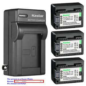 Kastar-Battery-AC-Wall-Charger-for-BP-718-amp-Canon-VIXIA-HF-R800-HFR800-Camera