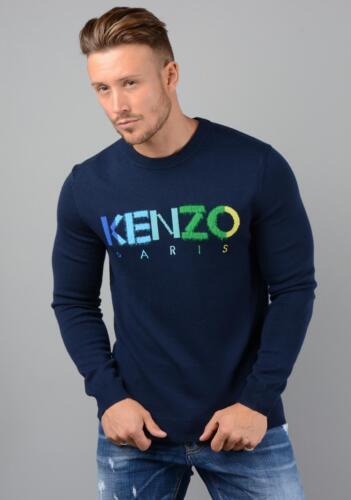 Kenzo mens 5PU217-3LC knitted Paris jumper