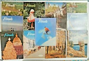 Lot of 11 Friends Magazines 1959 - 1966