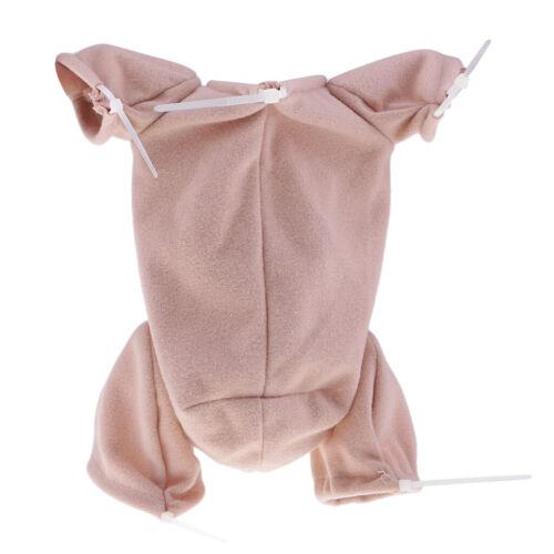 "Reborn Cloth Body Blank Baby Doll Supplies 3//4 Arm Full Leg 22/"" Doll DIY Kit"