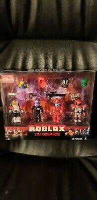 Comandos Roblox Roblox Star Commandos 12 Piece Set Ebay