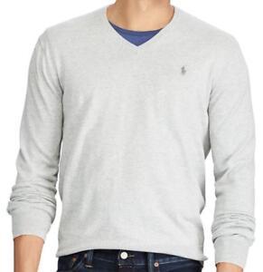 09b5817a Polo Ralph Lauren ~ Premium Pima Cotton Men's V-Neck Sweater $98 NWT ...