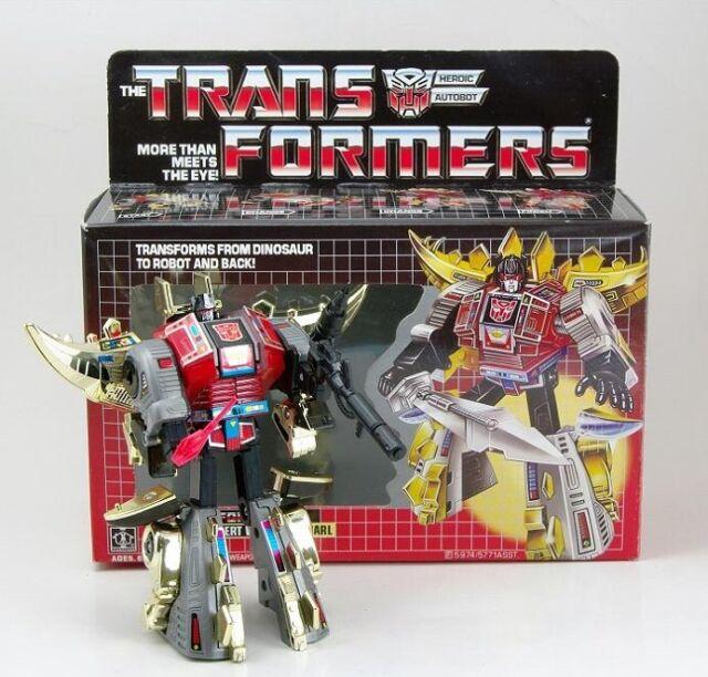 Transformers G1 snarl dinobot reissue brand new action figure Gift