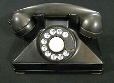 Vintage Rotary Dial Telephone Desk Phone Made In Canada from 1930s through 1940s