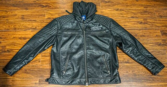 American Fighter Pleather Endure Jacket - Size 3XL
