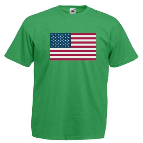 USA United States Of America Children/'s Kids T Shirt