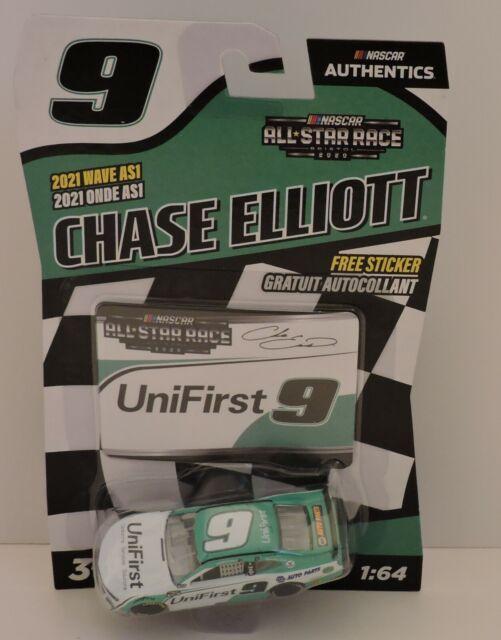 2020 CHASE ELLIOTT BRISTOL ALL-STAR RACE #9 UniFirst NASCAR AUTHENTICS 1:64