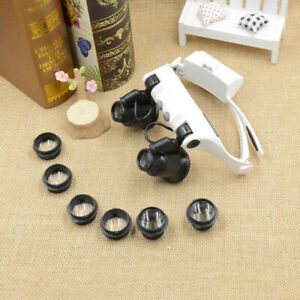 20X-10X-15X-25X-Magnifying-Magnifier-Eye-Glass-Loupe-Jeweler-Watch-Repair-Tool